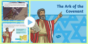 The Ark of the Covenant Information PowerPoint - RE, religion, Judaism, Jew, Israelite, Moses, Mount Sinai, Ark of the Covenant, Ten commandments, Ex