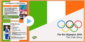 Team Ireland at Rio Olympics 2016 PowerPoint-Irish