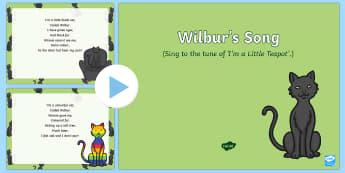 Wilbur's Song PowerPoint