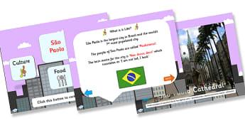 Sao Paolo Information PowerPoint - sao paolo, information, powerpoint, sao paolo information, sao paolo powerpoint, information powerpoint, sao paolo facts