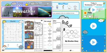 Weather Resource Pack - weather, seasons, sun, snow, ice, rain, cloud, hail, thunder, rainbow