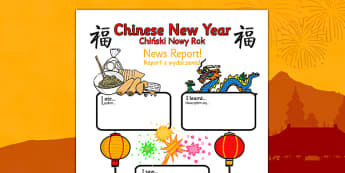Chinese New Year Event Writing Report Polish Translation - polish, chinese new year, event, writing, report