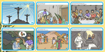 The Easter Story Arabic Translation - arabic, easter, story