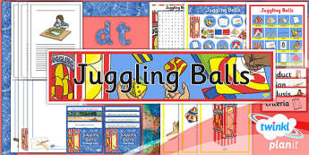 PlanIt - DT - LKS2 - Juggling Balls Unit: Additional Resources