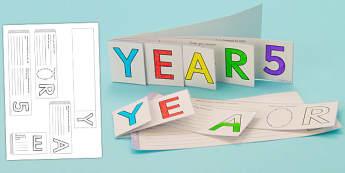 Year 5 Write Up Booklet - year 5, write up, booklet, write, up
