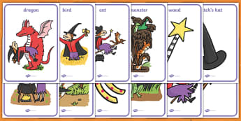 Display Posters to Support Teaching on Room on the Broom - room on the broom, poster