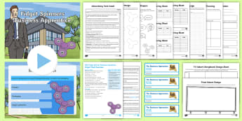 Fidget Spinner Business Apprentice Resource Pack - KS2, Key Stage 2, Key Stage Two, enterprise, topic, business, design,