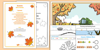 Autumn Quiet Time Box