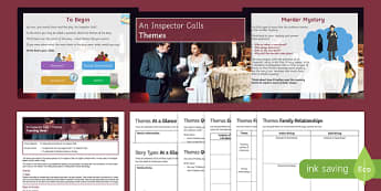 An Inspector Calls Themes Lesson Pack