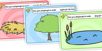 Editable Counting Playdough Mats - Playdough mat, playdough resources, numeracy, numbers, playdough