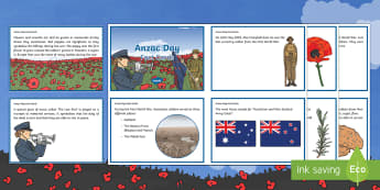 Anzac Day Fact Cards - Australian Requests, anzac day, anzac day fact cards, fact cards, history, hass, geography, soldiers