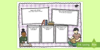 Book Review Colourful Writing Template Polish/English - reading, EAL, library, favourite book, evaluate, respond, summarise, recount