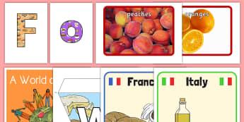 International Food Resource Pack - International, staff, residents, celebration, culture, the world, diversity, ideas, care homes, elde