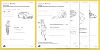 Student Led Practice Measure Activity Sheet, worksheet