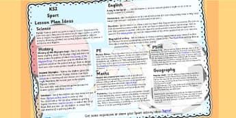 Sport Lesson Plan Ideas KS2 - sport, lessons, lesson plan, KS2