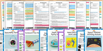 EYFS Space Craft Activities with Accompanying Planning Pack