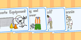 Sports Shop Role Play Posters - poster, sport, shopping, display