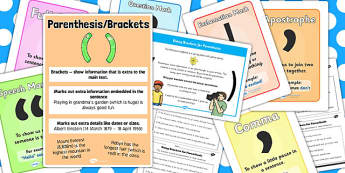 Brackets Resource Pack - brackets, resources, punctuation, pack