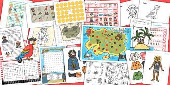 KS1 Pirate Activity Pack - pirates, pirate games, activities
