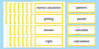 Year 2 Maths Vocabulary Word Cards Solving Problems - maths word cards, year 2 maths word cards, problem solving words, solving problems, numeracy words
