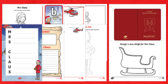 Top 10 Mrs Claus Activity Pack - Mrs Claus, marks and spencers, Christmas advert, christmas, Santa, top 10