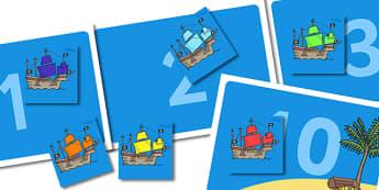 Pirate Display Reward Chart - pirate reward chart, pirates, pirate reward chart display, pirate theme reward chart, reward chart, pirate ships reward chart