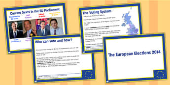European Elections Information PowerPoint - europe, election