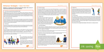 Behaviour Management Strategies for Secondary Students - behaviour, behavioural, secondary, classroom management, top tips, strategies, students.