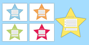 My Goals Pupil Target Stars Mandarin Chinese--translation