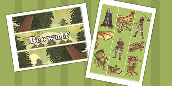 Beowulf Display Border - beowulf, display, border, display border