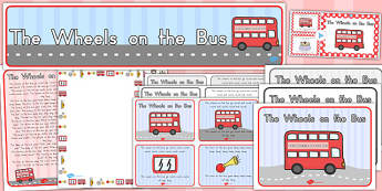 The Wheels on the Bus Resource Pack - australia, wheels, bus