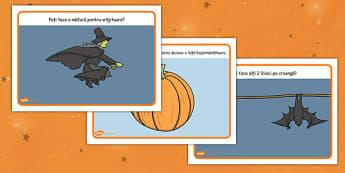 Halloween - Planșete pentru modelajul cu plastilină - Halloween, planșete, modelaj, plastilină, toamnă, joc, dexteritate, arte, romanian, materiale, materiale didactice, română, romana, material, material didactic