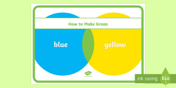 How to Make Green Poster - colour mixing, how to make, colours