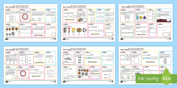 Year 2 Spring 1 Maths Activity Mats Arabic/English - Spring, maths mats, Year 1, add, addition, plus, altogether, sum, greater than, more than, total, fi