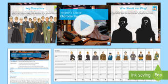 Character Revision Lesson Pack to Support Teaching on 'Hobson's Choice' by Harold Brighouse - Hobson's Choice, Alice Hobson, Vickey Hobson, Maggie Hobson, Henry Hobson, Tubby Wadlow, Mrs Hepwor