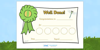 Minibeast Reward Certificate (30mm) - Reward Chart (30mm), reward chart, chart, reward, 30mm, stickers, twinkl stickers, award, certificate, well done, behaviour management, behaviour
