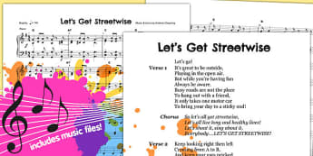 Lets Get Streetwise Whole School Song Pack (MP3) - song, pack