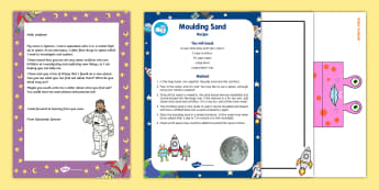 Editable Astronaut Letter and Resource Pack - EYFS, Early Years, Key Stage 1, KS1, Space, astronaut, rocket, moon, alien, space, letter,