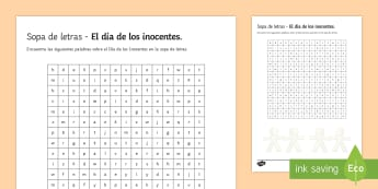Lower Ability April Fools' Day Differentiated Word Search Spanish - April, fools, day, lower, ability, worksheet, activity, sheet, word, search, culture, Spain, festivi