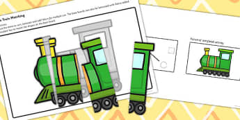 Workstation Pack Transport Matching Activities Set 2