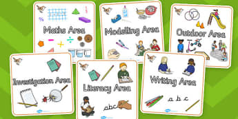 Wren Themed Editable Square Classroom Area Signs (Plain) - Themed Classroom Area Signs, KS1, Banner, Foundation Stage Area Signs, Classroom labels, Area labels, Area Signs, Classroom Areas, Poster, Display, Areas