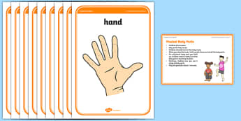 Foundation PE (Reception) Musical Body Parts Warm-Up Activity Card - physical activity, foundation stage, physical development, games, dance, gymnastics