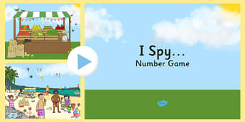 I Spy Number Game PowerPoint