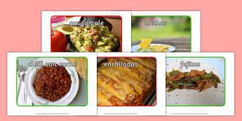 Mexican Food Display Photos - mexican food, display photos, display, photos, mexican, food