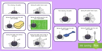 Initial 'sp' Word Story Cards - Cluster reduction, phonology, articulation, dyspraxia, sentence level, speech sounds