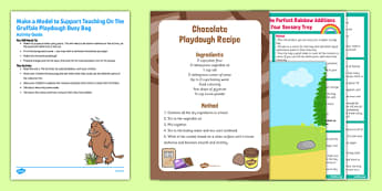 Make a Model To Support Teaching On The Gruffalo Busy Bag Resource Pack For Parents - pasta, playdough, Julia Donalsdon, Axel Scheffler, Gruffalo