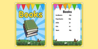 Elderly Care Summer Fair Book Posters - Elderly, Reminiscence, Care Homes, Summer Fair