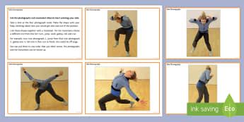 Solo Choreography Activity Cards - dance solo, motif, creative dance, KS3 Dance, KS4 Dance, choreography