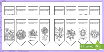 Happy Mother's Day Mindfulness Colouring Bookmarks - KS1 & KS2 Mother's Day UK (26.3.17), mother's day, mindfulness, colouring, health and wellbeing,