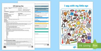 Act Out the Sound Adult Input Plan and Resource Pack - phonics, phase 1, aspect 6, lesson plan, adult led, voice sounds, blend, segment, follow instruction